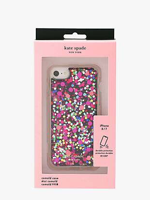 party confetti iphone 8 case by kate spade new york non-hover view