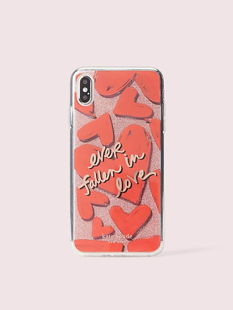 ever fallen in love iphone 11 xs max case by kate spade new york