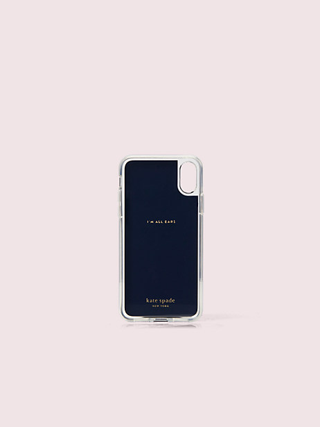 Sylvia party floral iphone x & xs magnetic wrap folio case   Kate Spade New York