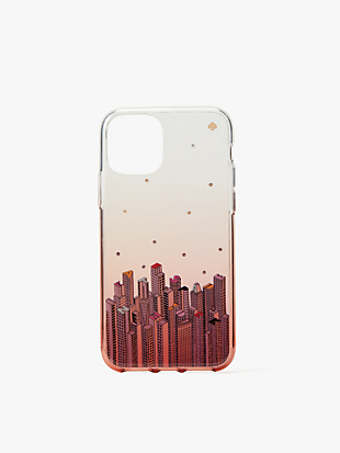 jeweled rock center iphone 11 pro case by kate spade new york non-hover view