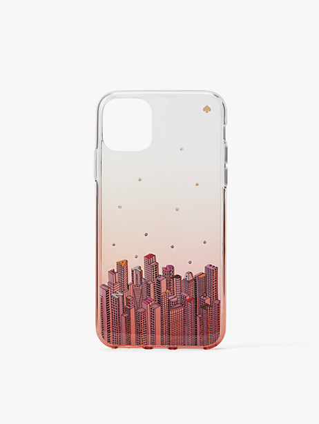 jeweled rock center iphone 11 pro max case by kate spade new york
