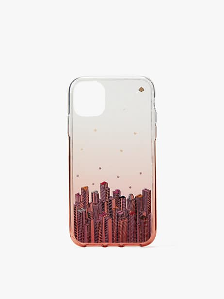 jeweled rock center iphone 11 case by kate spade new york