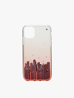 jeweled rock center iphone 11 case by kate spade new york non-hover view