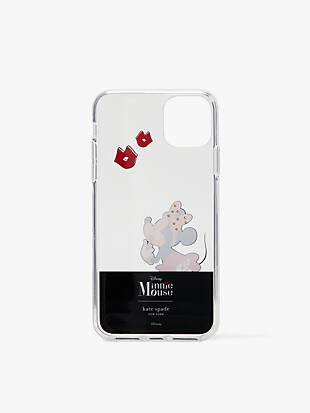 kate spade new york x minnie mouse iphone 11 pro max case by kate spade new york hover view