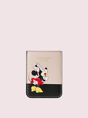 minnie mouse sticker pocket by kate spade new york hover view