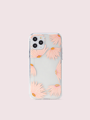 jeweled falling flower photo frame iphone 11 pro case by kate spade new york hover view
