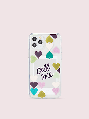 heart spade photo frame iphone 11 pro case by kate spade new york hover view