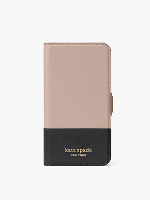 spencer iphone 11 pro magnetic wrap folio case by kate spade new york non-hover view