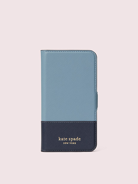 spencer iphone 11 pro magnetic wrap folio case by kate spade new york