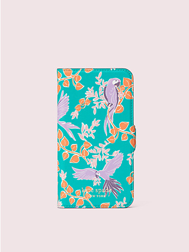 bird party iphone 11 pro magnetic wrap folio case, , rr_productgrid