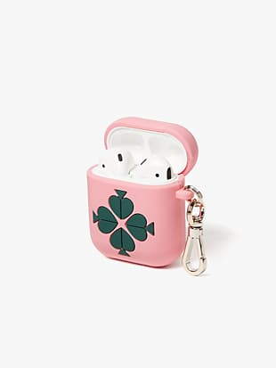 silicone airpods case by kate spade new york hover view