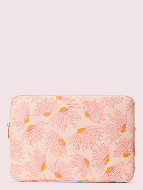 falling flower laptop sleeve by kate spade new york
