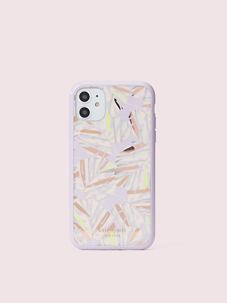 island leaf iphone 11 case by kate spade new york