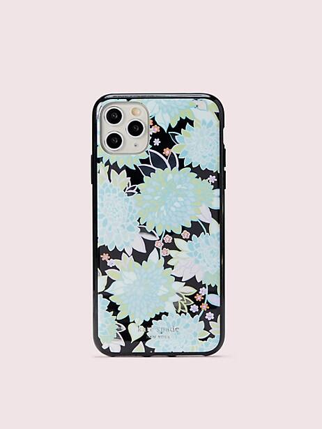jeweled exotic bloom iphone 11 pro max case by kate spade new york