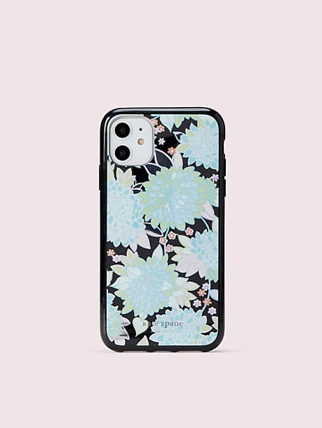 jeweled exotic bloom iphone 11 case by kate spade new york