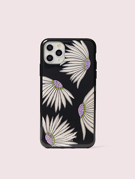 jeweled falling flower iphone 11 pro max case by kate spade new york