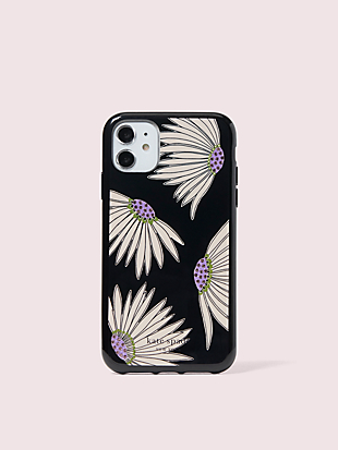 jeweled falling flower iphone 11 case by kate spade new york non-hover view