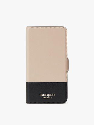 spencer iphone 11 pro max magnetic wrap folio case by kate spade new york hover view