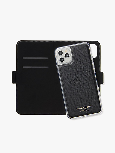spencer iphone 11 pro max magnetic wrap folio case by kate spade new york