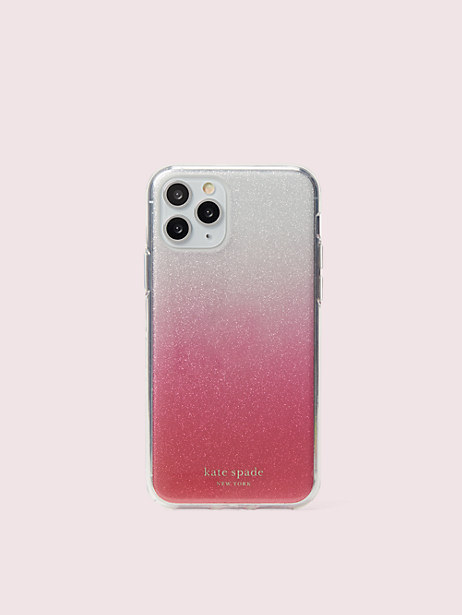 glitter ombré iphone 11 pro case by kate spade new york