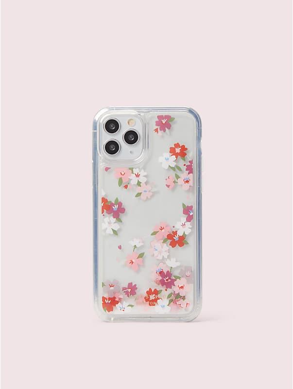 cherry blossom liquid glitter iphone 11 pro case, , rr_large