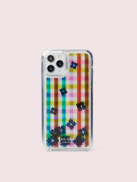 bella plaid liquid iphone 11 pro case by kate spade new york