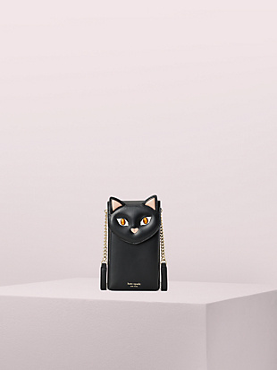 meow cat north south phone crossbody by kate spade new york non-hover view