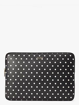 cabana dot universal laptop sleeve by kate spade new york non-hover view