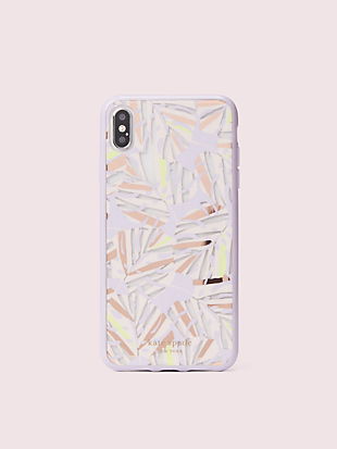 island leaf iphone xs max case by kate spade new york non-hover view