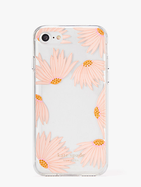 jeweled falling flower photo frame iphone se, 7 & 8 case by kate spade new york