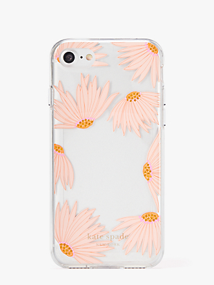 jeweled falling flower photo frame iphone 8 case by kate spade new york non-hover view