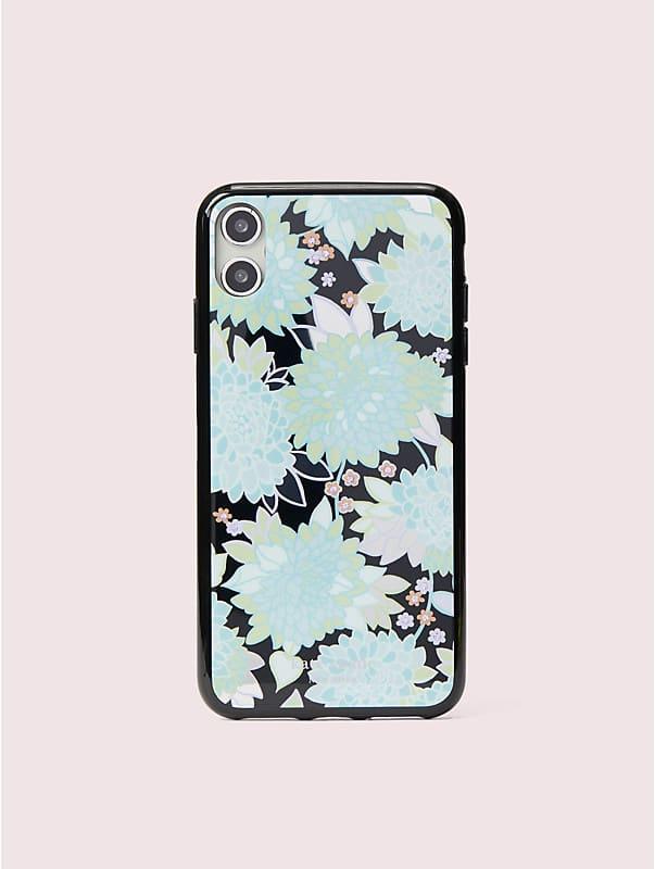 Hülle für iPhone XS Max mit exotischer Schmucksteinblüte, , rr_large