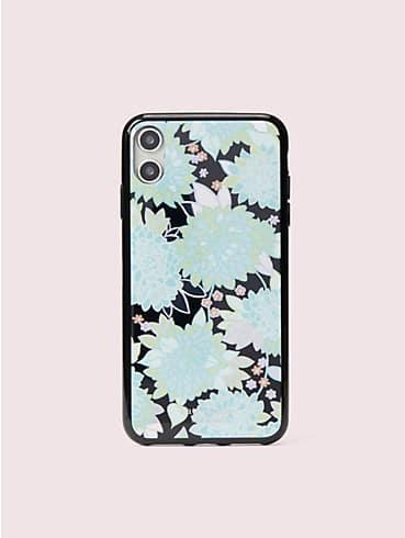 Hülle für iPhone XS Max mit exotischer Schmucksteinblüte, , rr_productgrid
