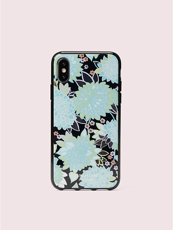 jeweled exotic bloom iphone x & xs case, , rr_large