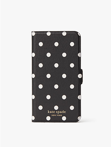 cabana dot iphone xs max magnetic wrap folio case, , rr_productgrid