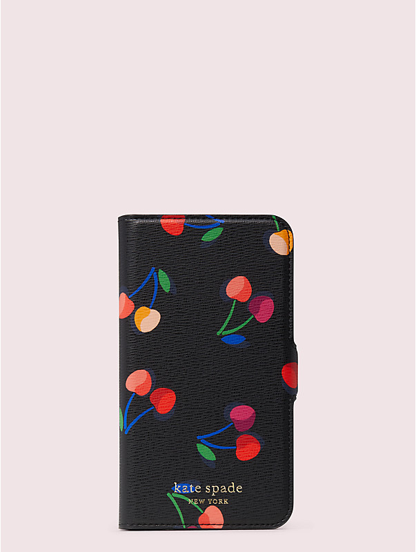 spencer cherries iphone 11 pro magnetic wrap folio case, , rr_large