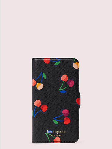 Spencer Magnetische Umschlaghülle für iPhone 11 Pro mit Kirschmuster, , rr_productgrid