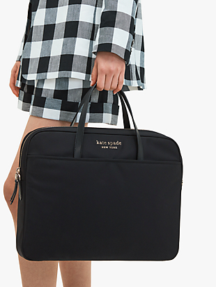 daily universal laptop bag by kate spade new york hover view