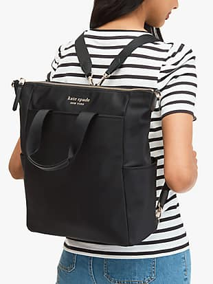 daily convertible backpack by kate spade new york hover view
