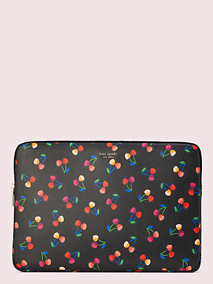 cherries universal laptop sleeve by kate spade new york non-hover view