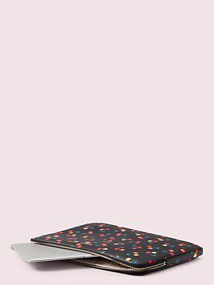 cherries universal laptop sleeve by kate spade new york hover view
