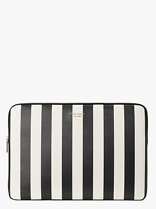 stripes universal laptop sleeve by kate spade new york non-hover view