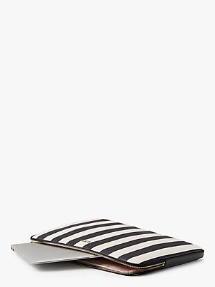 stripes universal laptop sleeve by kate spade new york hover view