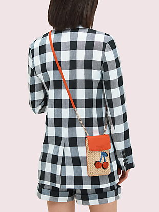 fruit novelty north south phone crossbody by kate spade new york hover view