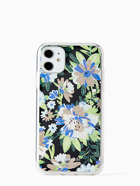 full bloom iphone 11 case by kate spade new york