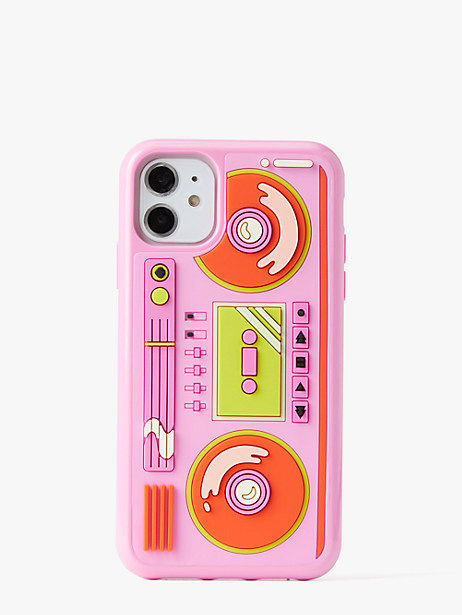 boombox iphone 11 case by kate spade new york