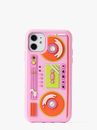 boombox iphone 11 case by kate spade new york non-hover view
