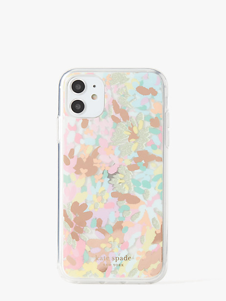 painted petals iphone 11 case by kate spade new york