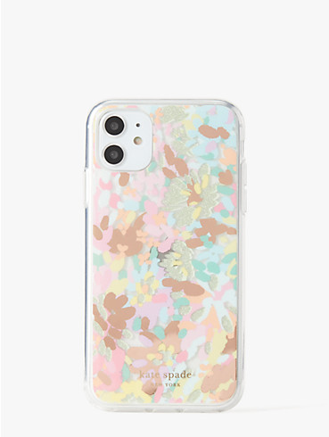 "Hülle für iPhone 11 mit ""Painted Petals""-Muster, , rr_productgrid"