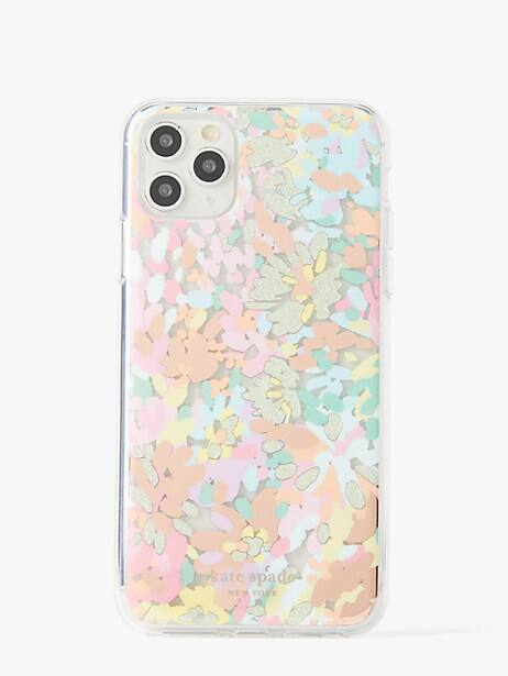 painted petals iphone 11 pro max case by kate spade new york
